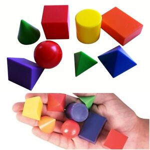 3D Geometric Shapes Teaching Resources 6 x 8 Educational