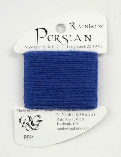 "Persian Wool #61 /""Deep Periwinkle/"" Single Ply Needlepoint Thread Rainbow Gallery"