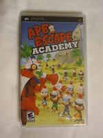 Ape Escape Academy (playstation Portable, Psp) Brand New, Sealed