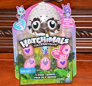 Details About Hatchimals Colleggtibles Season 2 Burtle 4 Pack Eggs Walmart Exclusive New