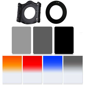 ZOMEI-9in1-Square-ND-Filter-Graduated-Filter-Holder-67-95-mm-Ring-for-Cokin-Z