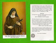 Reliquia – Reliquiario – Santino Relic- Venerabile Suor Filomena di Santa-Coloma