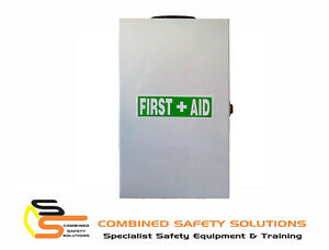 Ferno-First-Aid-Kit-Metal-Wall-Mount-Box-Complies-to-Workplace-Code-of-Practice
