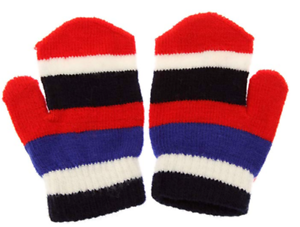 Kids Mittens Children Magic Mitts Striped One Size Fits All Quality Winter  Value   eBay
