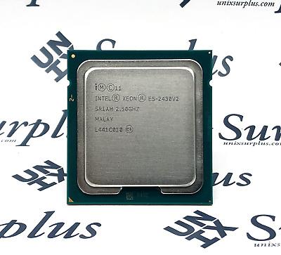 Intel XEON E5-2430V2 15MB 6-Core Processor CPU 2.5 GHz LGA1356 SR1AH