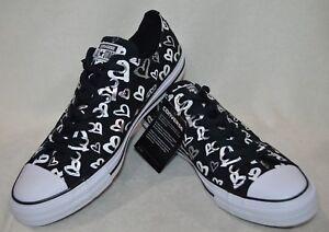 20242fe8446723 Converse All Star Women s CT OX Black Silver Whit Sneakers-Sz 10 11 ...