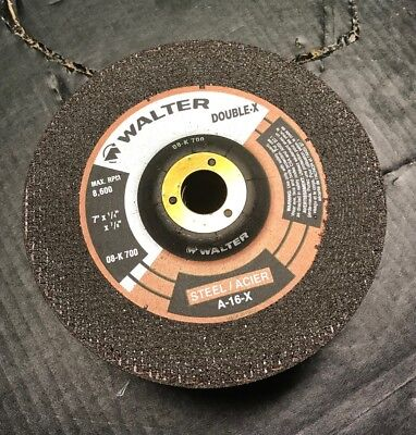 "5 pack Walter 08-K 600 6/"" x 1//4/'/'x7//8/"" HP XX Depressed Center Grinding Wheels"