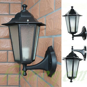 Image Is Loading Vintage Exterior Outdoor Wall Lamp Sconce Lantern Light