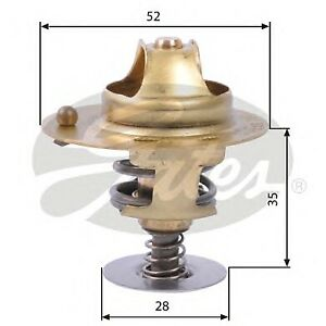FOR ROVER 600 RH 623 SI 158HP -99 NEW GATES THERMOSTAT