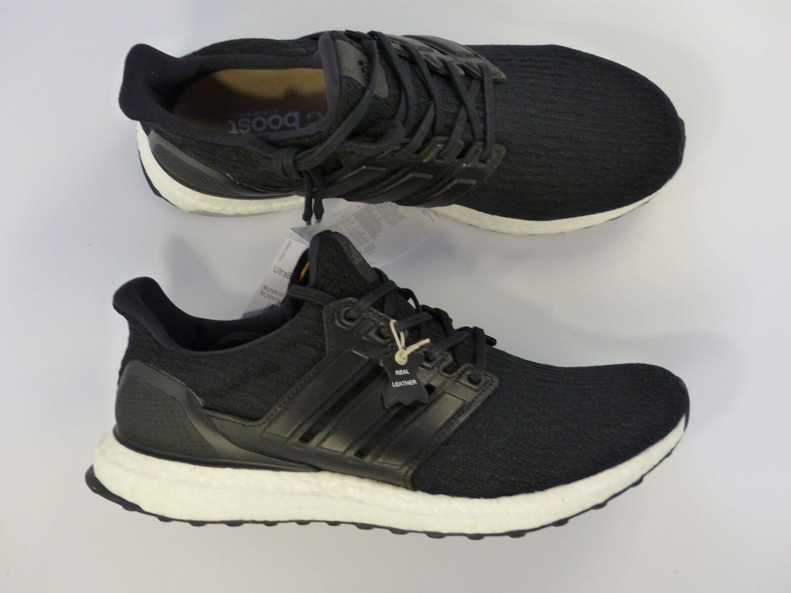 Adidas Ultra Boost Ltd Cuir CORE Cuir Ltd Noir Cage UK9 EU43 1 3 DS BA8924 ddd7a5