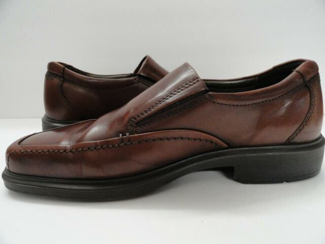 Vintage Men/'s Brown Ecco Leather Lace Up Casual Shoes 11-11 12 FREE SHIPPING