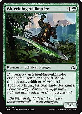 4x Bitterklingenkämpfer Amonkhet Magic Bitterblade Warrior