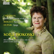 Chausson / Isokoski - Poeme de L'amour Et de Lar Mer / Nuits D Ete [New CD]