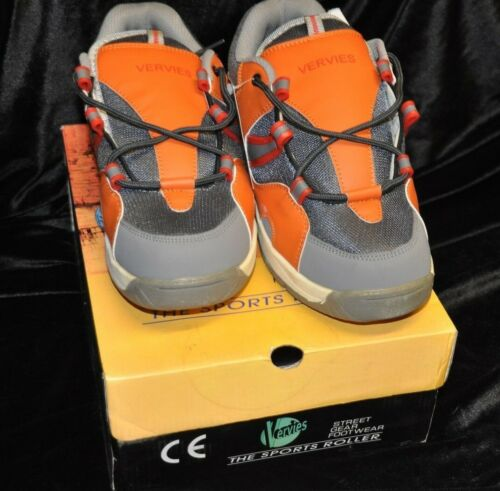 NEW Size 6  Vervies Sports Roller .Red //Orange  Free Postage!! Heelys