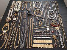 All Signed Vintage LOT Napier Coro Coventry Bsk Monet Avon Necklace Bracelet W1