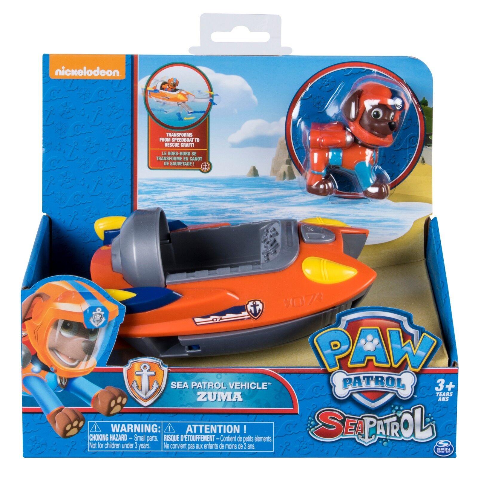 Paw Patrol Zuma Sea Patrol Vehicle Toy - Authentic Paw Patrol Toy - Zuma Toy