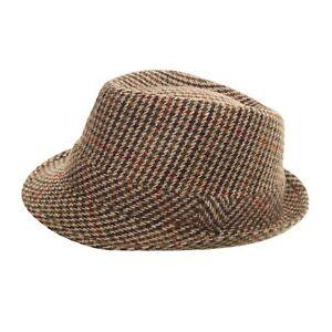 108daf817540 Detalles de Tweed Sombrero Damas Hombres Chicos Fieltro Fedora Mezcla De  Lana Espiga país Clásico- ver título original