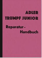 Adler Trumpf Junior 1G Reparaturanleitung Werkstatthandbuch Montageanleitung PKW