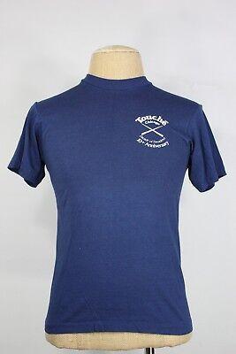 Vintage Touche Chicago T-shirt Xs S Herr Leder Bar Schwul 24.4ms Lgbt 50/50 Die Neueste Mode