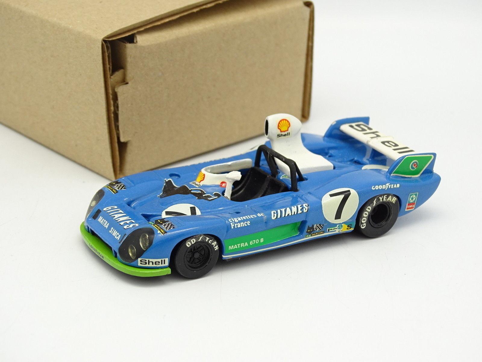 Eligor Evrat 1/43 - Matra 680 Le Mans 1974 No.7