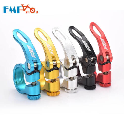 FMF Road Bike MTB Seat Post Clamp Seatpost Clamps Quick Release 31.8//34.9mm NEW