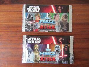 Star-Wars-Force-Attax-Trading-Cartas-2-Bolsitas-Paquete