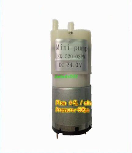 1pcs DC6V//12V 4~5L 50kpa Micro inflatable pump silent air pump vacuum pump