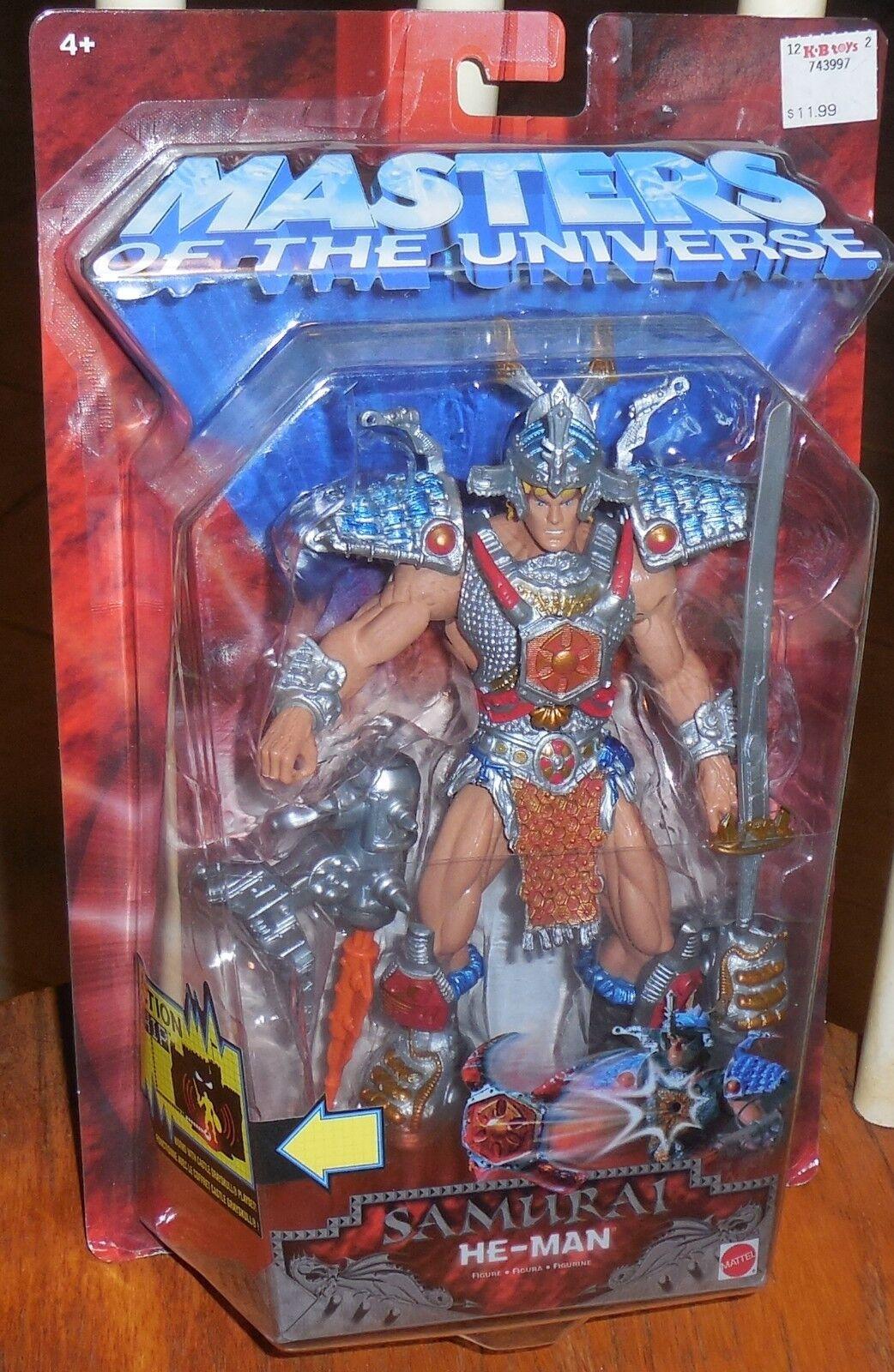 Motu Samurai He-Man Nuevo 2002 200x Masters Of The Universe Mosc Nuevo