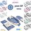 BABY-NEST-Pod-Newborn-Cocoon-Sleepyhead-lit-5-Pcs-Set-Coton-Couverture-Oreiller-EU miniature 1