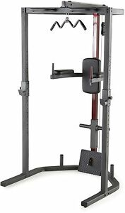 Power Rack Cap Strength Home Gym Total Body Weight Trainer