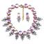 Women-Fashion-Bib-Choker-Chunk-Crystal-Statement-Necklace-Wedding-Jewelry-Set thumbnail 72