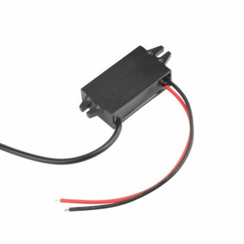 Durable Portátil Cargador de coche DC Convertidor Módulo 12V convertir a 5V 3A USB 15W