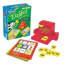 Thinkfun Zingo Sight Palabras Juego De Bingo Tarjeta Lectura Foto Emparejamiento