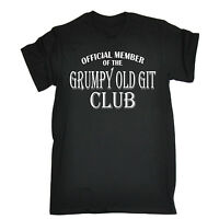 Grumpy Old Git Club T-SHIRT Dad Grandad Geek Joke Fashion Funny Gift fathers day