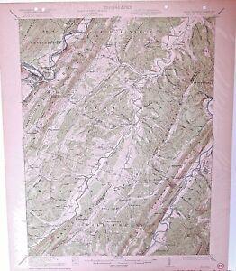 USGS 15\' Keyser, WV/MD topographic map 1922 edition | eBay