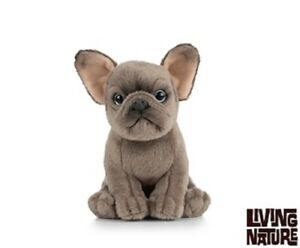 Living Nature French Bulldog Puppy An437 Realistic Animal Cuddly
