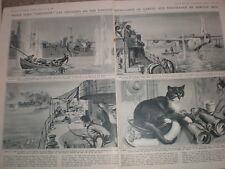 Scenes of Daring British on the Yangtse China 1949 John Worsely old prints