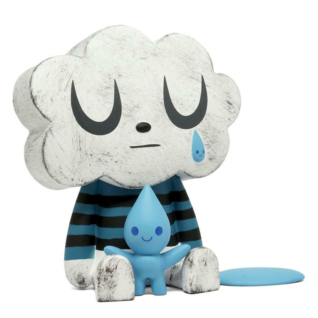 CLOUDY DAY VINYL Spielzeug FIGURE BY FLUFFY haus X AMANDA VISELL