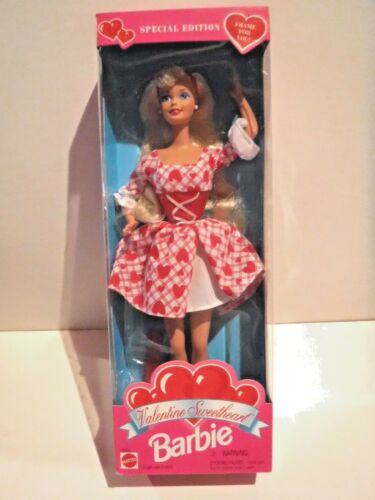 1995 VALENTINE SWEETHEART BARBIE SPECIAL EDITION MNRFB