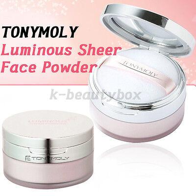Korea Cosmetics Luminous Sheer Powder 15g Face Loose Powder Shimmer skin makeup