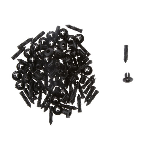 50pcs 8mm Rivets Fastener Retainer Clips for Yamaha 90269-06001