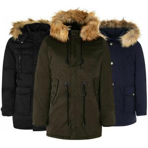 Cappotto uomo TWIG Parka Collection giubbotto cappuccio giaccone invernale