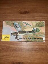 1993 #80238 Heller 1//72 Focke Wulf Fw 56 Stosser
