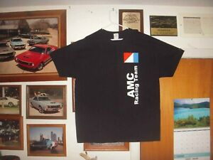 AMC-Racing-Team-tshirt-XL-AMX-Hurst-SCRambler-Rebel-Machine-Mark-Donohue