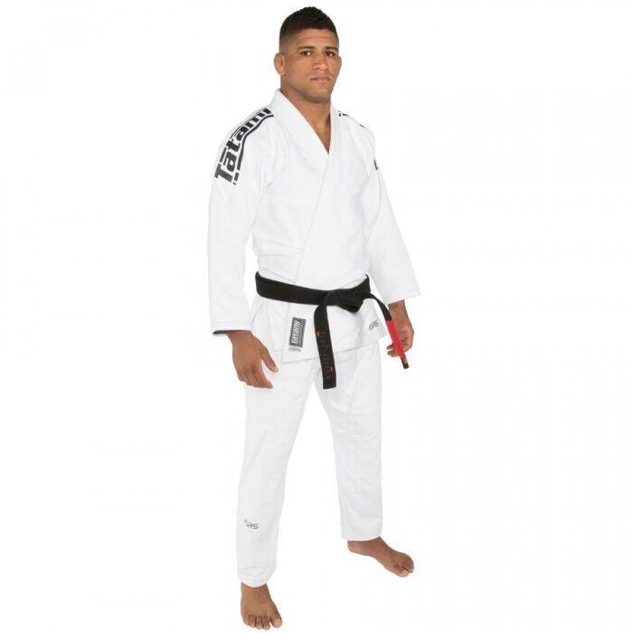 ¡Nuevo  Tatami Compuesta Srs Ligero 2.0 Bjj Gi blancoo Jiu Jitsu Kimono Uniforme