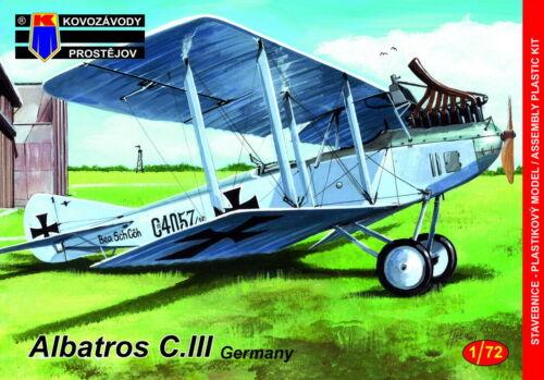 Kovozavody prostejov 1//72 Modell Set 72149 Albatros C III Imperial Deutsch Luft