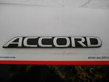 "1990 - 1993 Honda Accord Rear ""ACCORD"" Emblem Chrome 75722-SM4-000 OEM CB7"