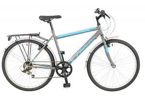 New-Falcon-Homme-EXPLORER-Hybride-Velo-Noir-Bleu-26-034-6-Vitesse-shimano