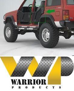 Warrior Rear Adventure Tube Doors W Paddle Handles 84 96 Jeep Cherokee 4 Door Ebay
