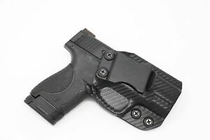 IWB-KYDEX-Holster-Fits-Smith-amp-Wesson-M-amp-P-Shield-9MM-40-Cal-M-2-0-amp-Per